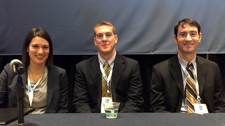 Athletes Connected Program Presents Findings at NCAA Convention