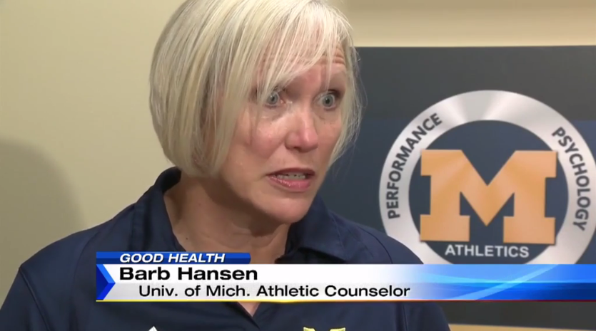 Channel 4 Covers College Students & Depression with Barb Hansen