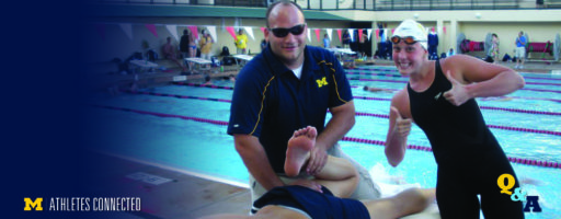 Q&A: U-M Athletic Trainer Jeremy Marra